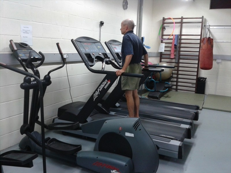 Try out our treadmills